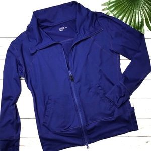 ZELLA | sz M blue yoga jacket
